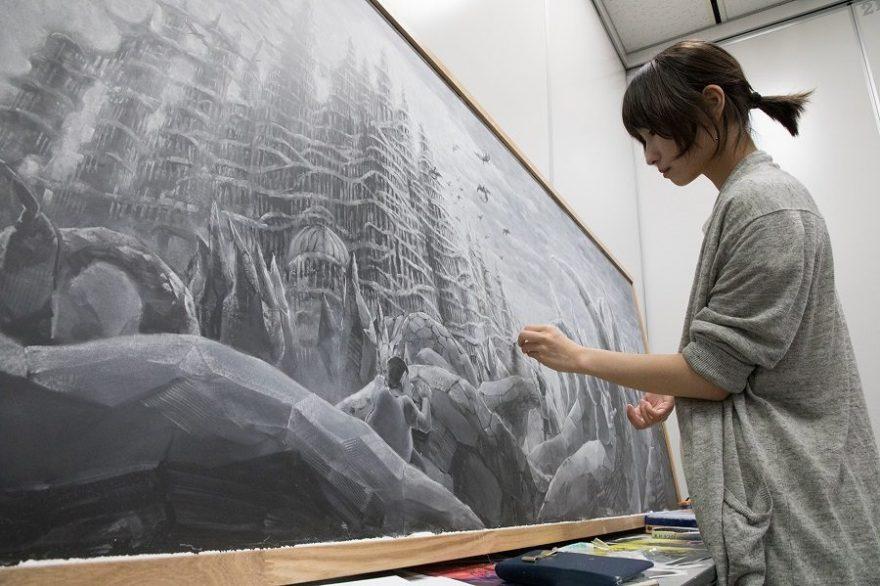 テレ朝POST » 彫刻、書、チョークアート!日本を牽引するアーティスト ...