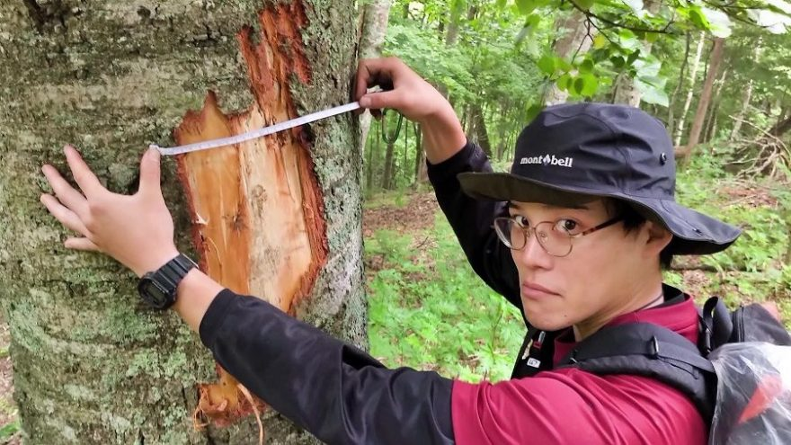 """北海道で""""森""""をつくって4年目!25歳の青年の心に響いた言葉「地球は…"""